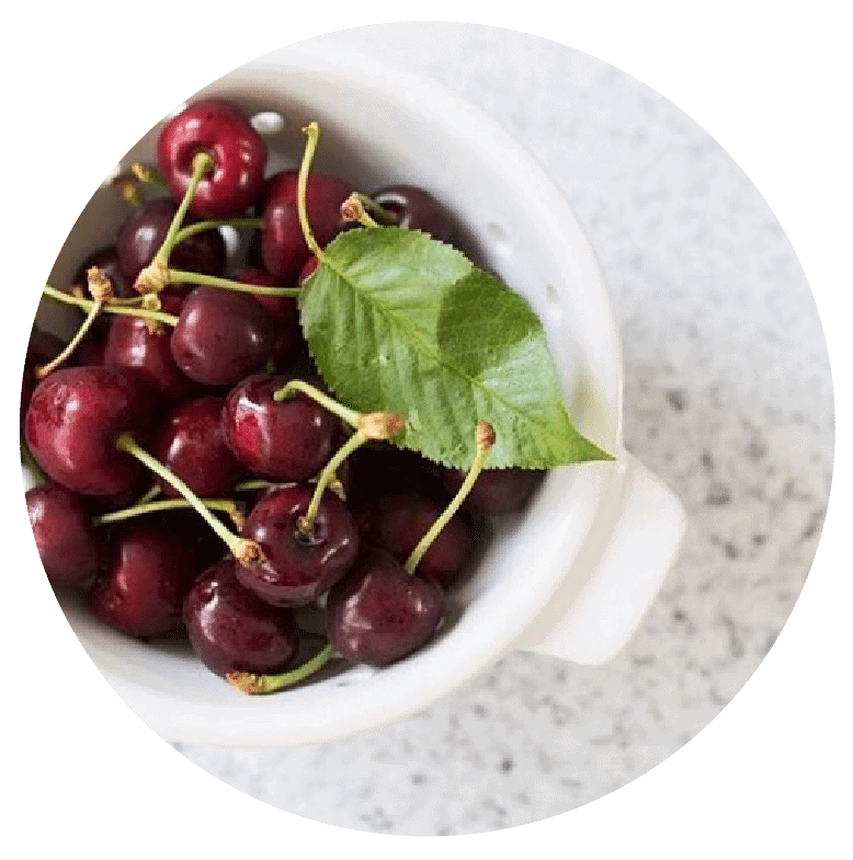 Work with a Dietitian in Melbourne to enjoy all foods again like this bowl of cherries