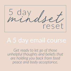 5 Day Mindset Reset.