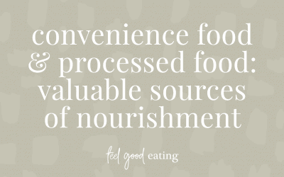Convenience Food And Processed Food: Valuable Sources Of Nourishment