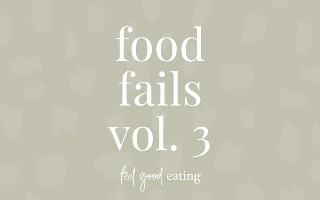 Food Fails Vol. 3
