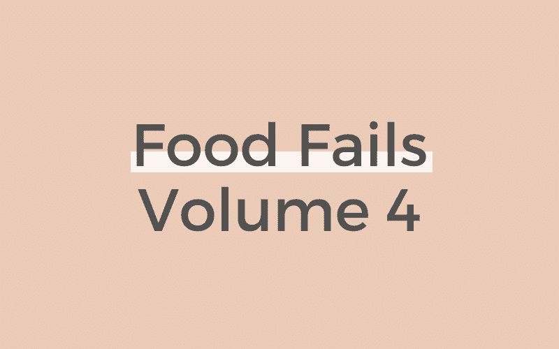 Food Fails Vol. 4