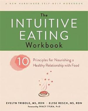 Cover of the Intuitive Eating Workbook
